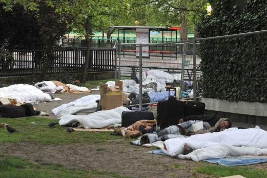 tigani din Botosani in centrul Londrei