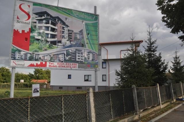 constructie bloc Semnal pe Bulevardul Mihai Eminescu Botosani