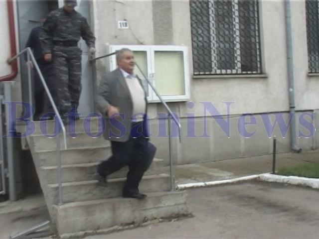 Contac la iesirea din Penitenciarul Botosani