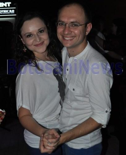 viceprimarul Cosmin Andrei si sotia sa, Ana Maria