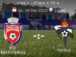 FC Botosani- Gaz Metan Medias