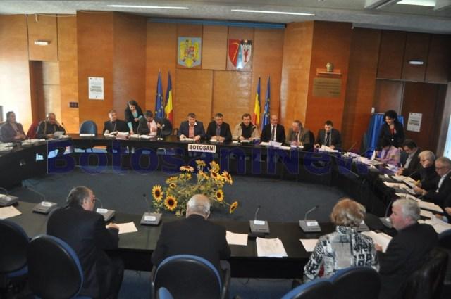 sedinta consiliul judetean CJ Botosani