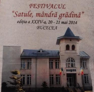 festivalul satule, mandra gradina bucecea- Botosani