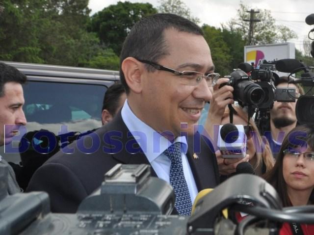 Victor Ponta la Baisa- Botosani