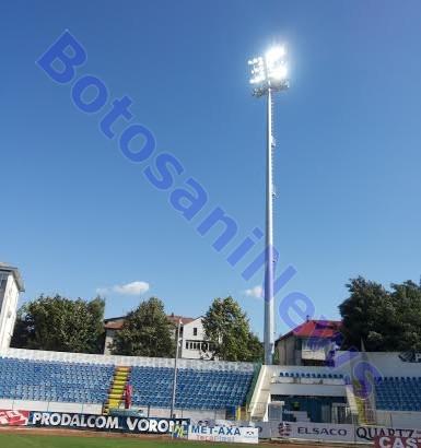 nocturna aprinsa pe Stadionul Municipal- Botosani