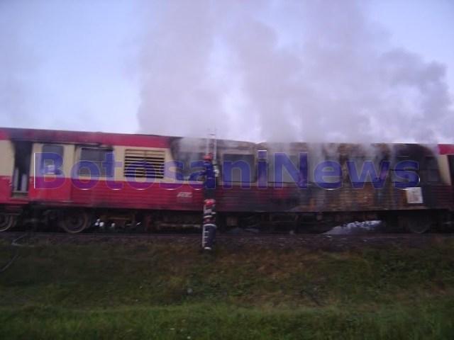tren Regiotrans ars la Broscauti Botosani