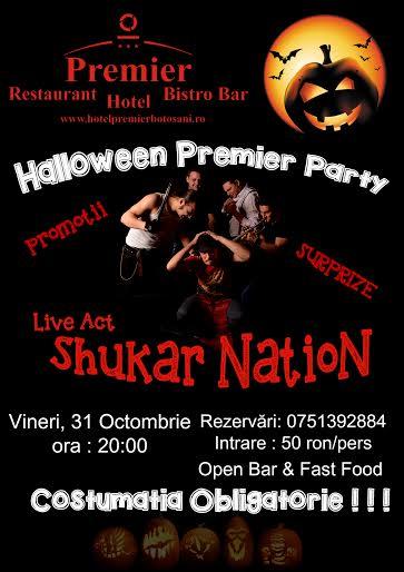 petrecere de Halloween la Hotel Premier Botosani