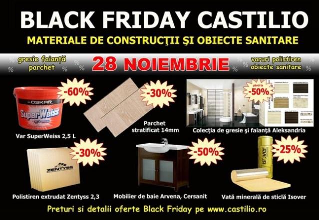Black Friday la Castilio Botosani