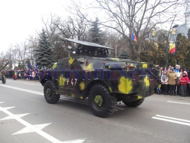 parada militara la Botosani de 1 decembrie 2018