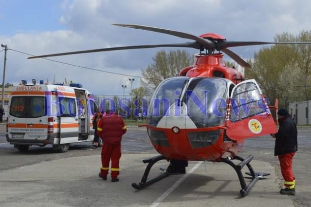 elicopter smurd ambulanta botosani3