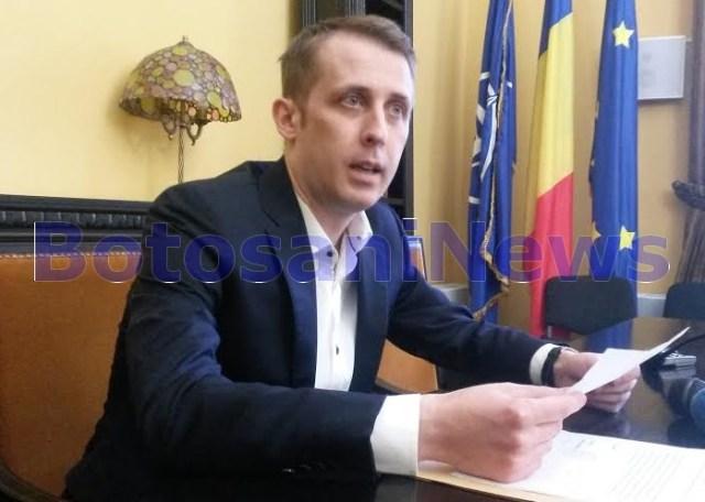Ovidiu Portariuc - primar Botosani