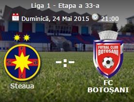 Steaua- FC Botosani