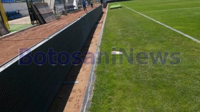 panouri cu leduri pe stadionul municipal- botosani