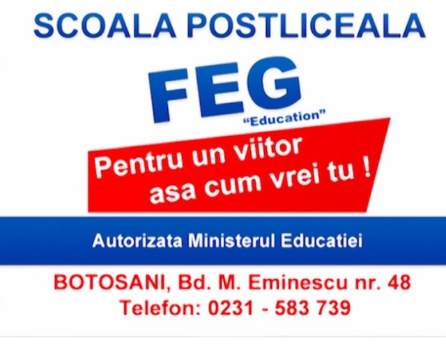 FEG Education Botosani