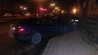 accident pe strada Imparat Traian- municipiul Botosani