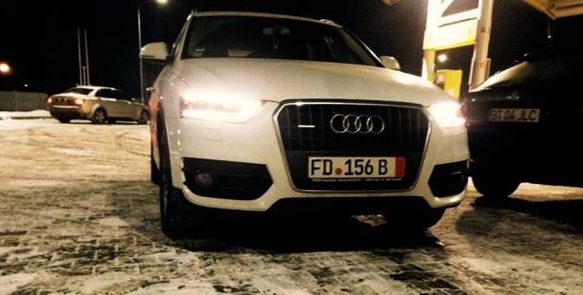 Noul autoturism Audi Q5 al Madalinei Nazare