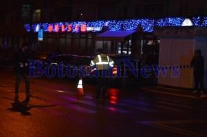 politie accident noaptea trecere de pietoni