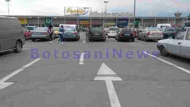 parcare la kaufland- botosani