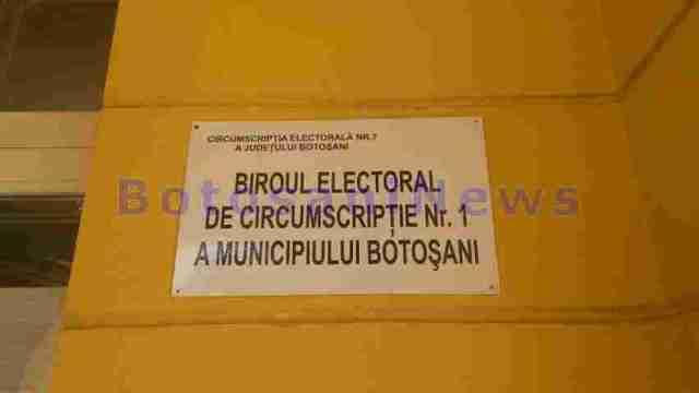 biroul electoral de circumscriptie - municipiul botosani