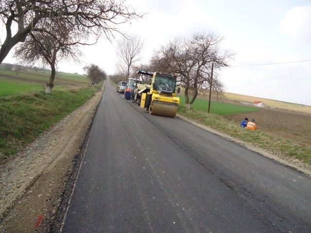 drumul comunal Baluseni - Draxini- Botosani