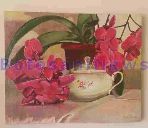 carmen nicolau- director casa de asigurari de sanatate- botosani- pictura