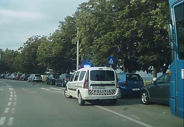masini parcate aiurea pe strada Pacea- Botosani