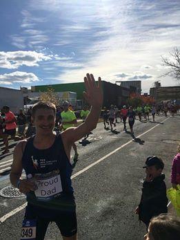 gabi damian la maratonul din new york