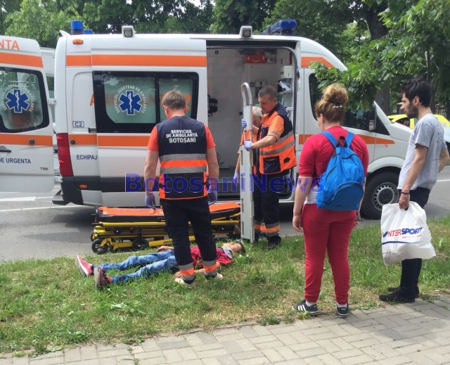accident AT Laurian- Botosani