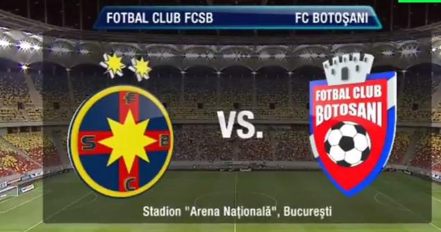 fcsb bucuresti - fc botosani