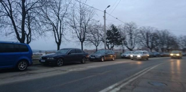 amenzi pentru masini parcate ilegal, stiri, botosani (1)