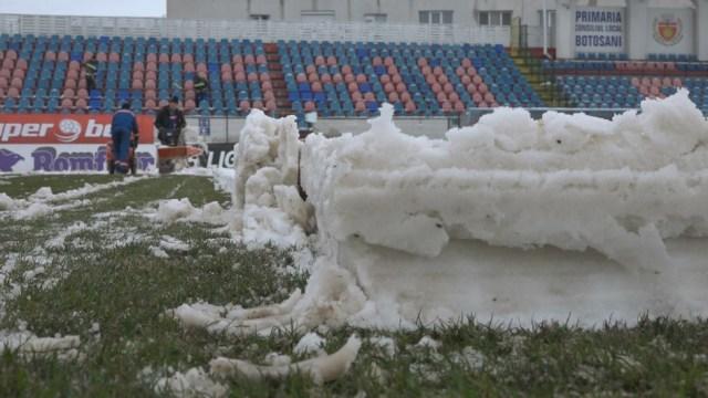 deszapezire , stadionul municipal, stiri, botosani