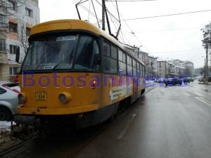 tramvai, blocaj, stiri, strada ion pillat, botosani (1)