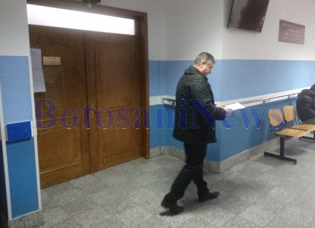 Florin Turcanu la Tribunalul Botosani