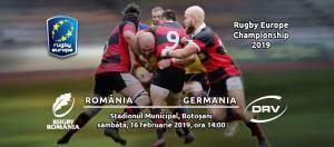 Romania- Germania la rugby se joaca la Botosani