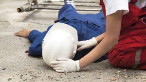 accident de munca - muncitor in constructii