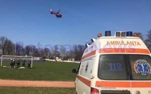 elicopter smurd la Dorohoi- Botosani
