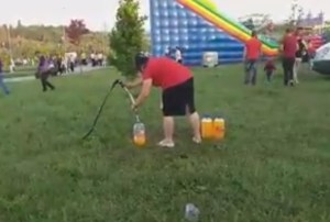 cum se face sucul in parcul de agrement cornisa - Botosani