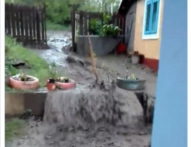 inundatii la Ungureni- Botosani