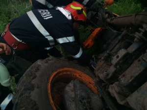 tractor rasturnat la Viisoara- botosani