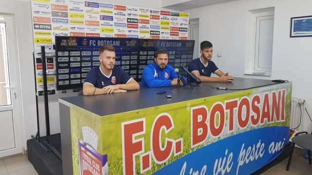 Marius Croitoru la conferinta de presa a FC Botosani inaintea meciului cu FCSB