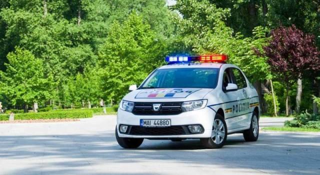 masina politie la Botosani