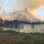 incendiu manastirea agafton botosani