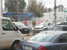 accident rutier in zona magazinului Util - Calea Nationala- Botosani