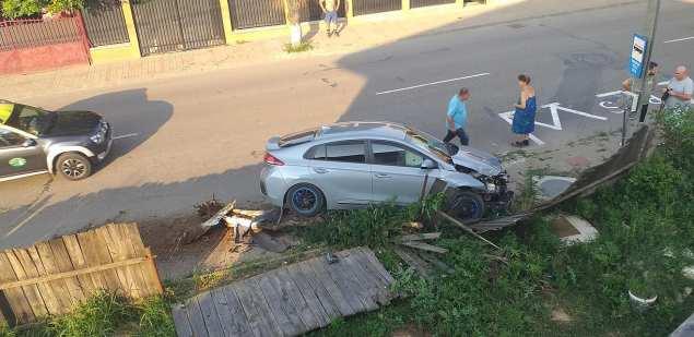 accident gard, stiri5