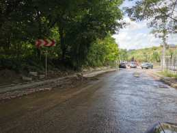 avarie pe strada Dobosari (6)