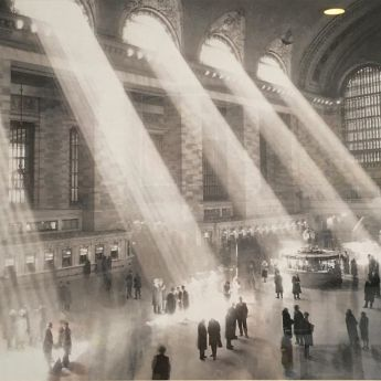 Archival photo of Grand Central Station