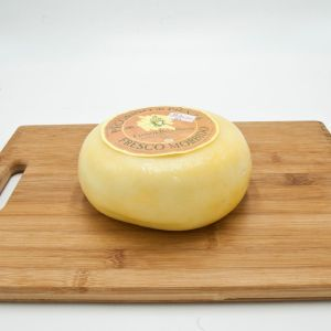 Soft fresh Pecorino cheese from Pienza