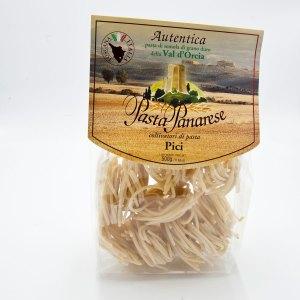 Authentic durum wheat semolina pasta from Val d'Orcia.