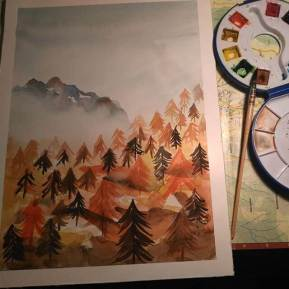 forest-watercolor