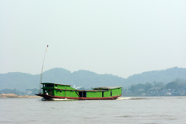 Thailande - Golden Triangle - Boat